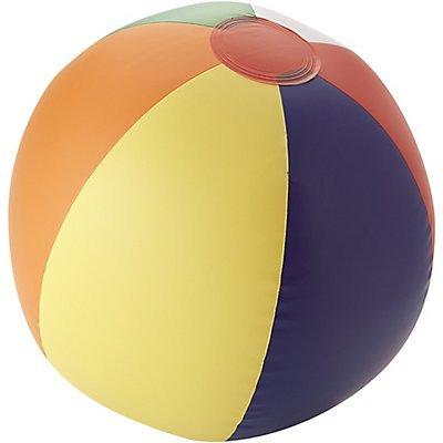 50 Personalizzate Pallone da Spiaggia Tinta Unita Rainbow - National Pen