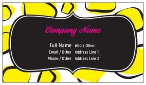 bulk business cards beauty spa - Bulk Business Cards