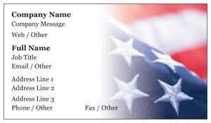 Political business cards vistaprint political business cards patriotic military colourmoves