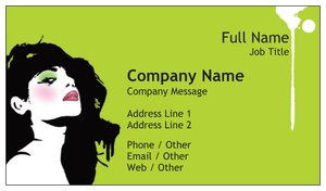 Makeup artist business cards vistaprint makeup artist business cards beauty spa reheart Gallery