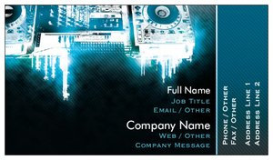 dj business cards music - Dj Business Cards