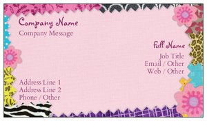 Cute Business Cards Retail S