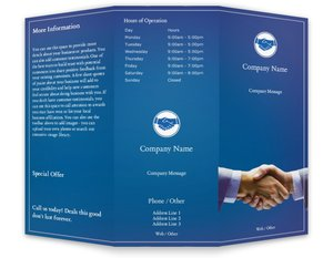 Business Brochures Templates Vistaprint - Sales brochure template