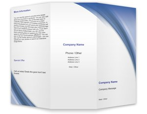 business brochures templates business services