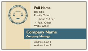 Attorney business cards vistaprint attorney business cards law public safety politics flashek Images
