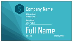simple business cards bold - Simple Business Cards