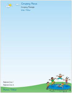 personalized stationery for kids vistaprint