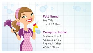 Cleaning business cards vistaprint cleaning business cards construction repair improvement colourmoves