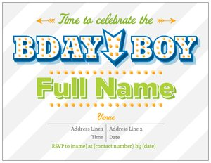 Boy birthday invitations vistaprint boy birthday invitations filmwisefo