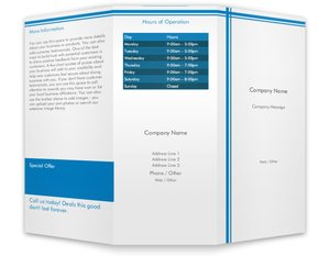 business brochures templates vistaprint