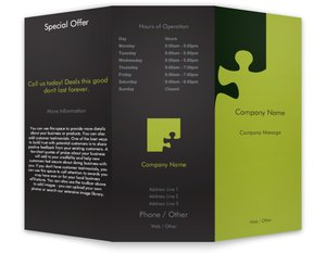 business brochures templates finance insurance