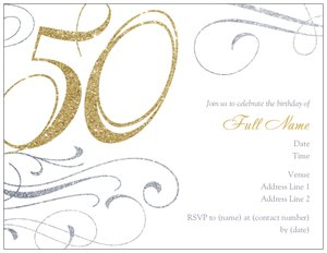 Surprise 50th birthday invitations vistaprint surprise 50th birthday invitations adult birthday stopboris Choice Image