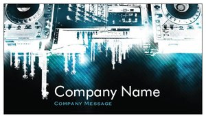 Dj business cards vistaprint dj business cards music flashek Image collections