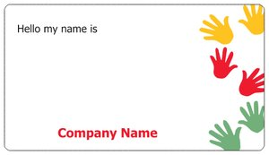 Personalized Name Stickers Kids Education Child Care