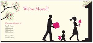 Weve moved cards vistaprint for We have moved cards templates
