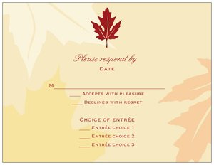 fall invitations vistaprint