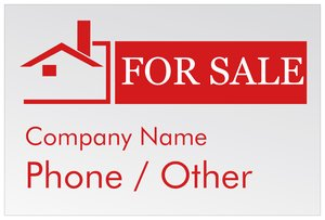 Real Estate For Signs