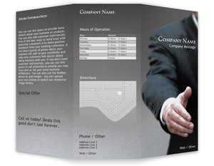 Business brochures templates vistaprint business brochures templates business services wajeb Image collections