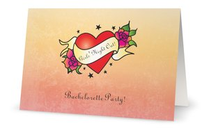 cheap bachelorette party invitations - Cheap Bachelorette Party Invitations