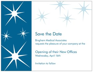 Business event invitations vistaprint business event invitations save the date flashek Choice Image