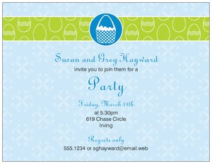 easter invitations vistaprint