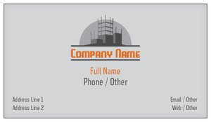 Double sided business cards vistaprint double sided business cards construction repair improvement reheart Choice Image