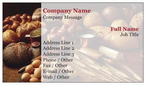 best place to order good business cards food beverage - Best Place For Business Cards