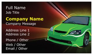 business cards fast shipping automotive transportation - Fast Business Cards