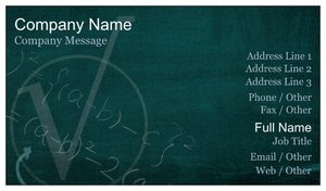 Teacher business cards vistaprint teacher business cards education child care reheart Images